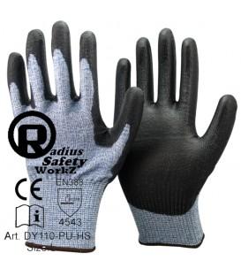 RS workz Anti-Cut Working Glove Cut 5
