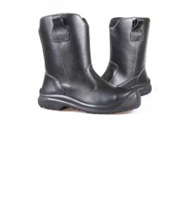 Kpr 10″ High cut Black slip-on Rigger boots L805B and 805