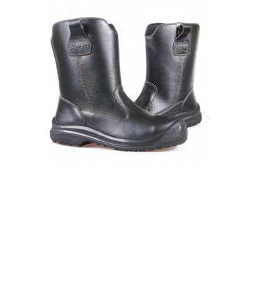 Kpr 10″ High cut Black slip-on Rigger boots L805B and 805