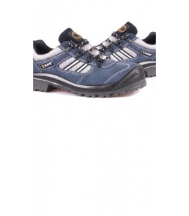 KPR Low cut Blue Suede lace up Safety Sports shoe M 017B