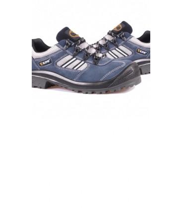 KPR Low cut Blue Suede lace up Safety Sports shoe M 017B