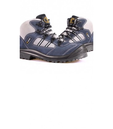 KPR Mid cut Blue Suede lace up Safety Sports shoe M 027B