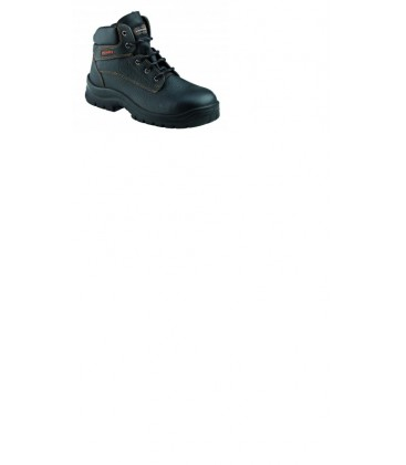 KRUSHERS Dallas black lace up ankle boot