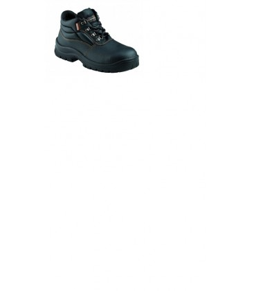 KRUSHERS Florida black lace up ankle boot
