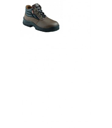KRUSHERS Florida brown lace up ankle boot