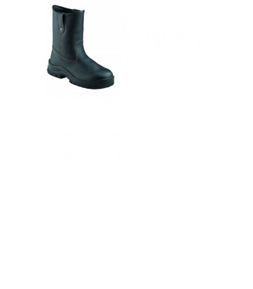 KRUSHERS Texas black pull on riggers boot