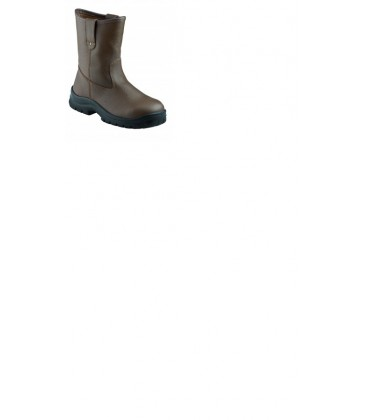 KRUSHERS Texas brown pull on riggers boot