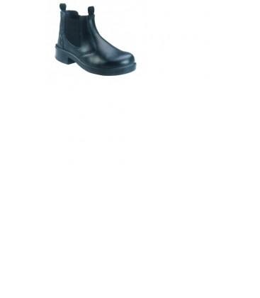 Bindi black elastic sided boot