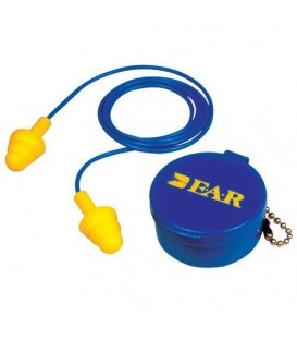 3M™ E-A-R™ UltraFit™ Corded Earplugs, Hearing Conservation 340-4002 in Carrying Case